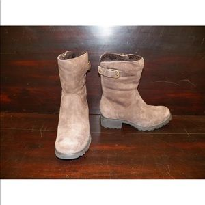 New Womens UGG Mare Espresso Mid Suede Winter Boot